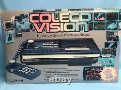 Coleco Vision The Arcade Quality Video Game System/Console 1982