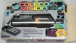 Coleco Vision The Arcade Quality Video Game System In Box With Donkey Kong Game