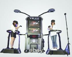 Commercial Virtual Reality 2 Player VR Shooting Challenge Arcade Game SEE VIDEO