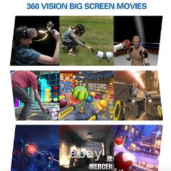 Commercial Virtual Reality VR Arcade Booth 9D Simulator Multigame Game SEE VIDEO