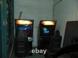 Cruisn' World Arcade Driving Racing Video Game Machine WORKS ORIGINALS, SEATS