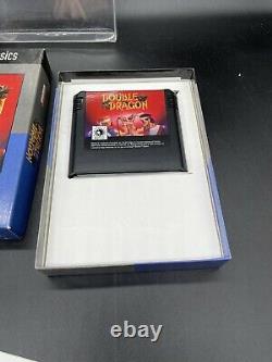 Double Dragon Video Game Classics Edition Sega Genesis CIB Complete CLEAN