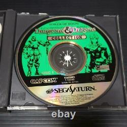 Dungeons And Dragons Collection Sega Saturn Video Game Import From JP Used