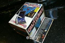 Entex CRAZY CLIMBER Vintage Electronic Handheld Tabletop Arcade Video game WORKS