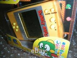 Epoch BUBBLE BOBBLE LCD Electronic Handheld Video Game RARE Like Game & Watch