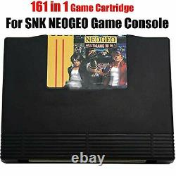 For SNK NEO GEO AES Console 161in1 Multi Arcade Video Game Cartridge JAMMA Board