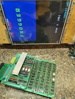 Frogger Video Arcade Game PCB, Atlanta, #310