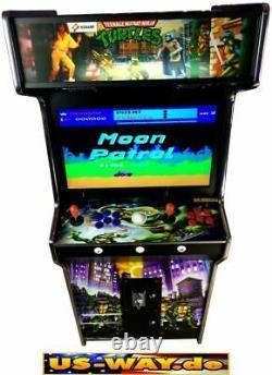 G966T Classic Arcade Cabinet Games Machine Jamma Video Standgerät 19LCD Monitor