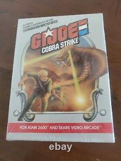 GI JOE Cobra Strike - for ATARI 2600 Video Game System NOS BRAND NEW