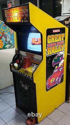 GREAT 1000 MILE RALLY by KANEKO arcade video game