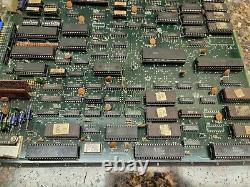 Galaga 3 Video Arcade Game PCB, Atlanta #408 (Needs repair)