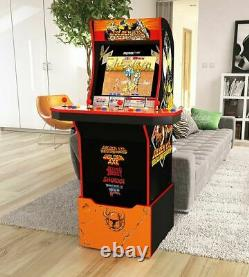 Golden Axe Arcade 1up Retro Cabinet Video Game Riser 5 Games In 1 Lit Marquee