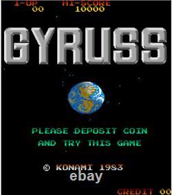 Gyruss ORIGINAL Konami pcb arcade video game Not working For Repair