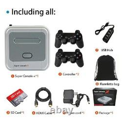 HD 4K HDMI Video Game Console Arcade Kids Retro Game Emulator Pre-install 40000