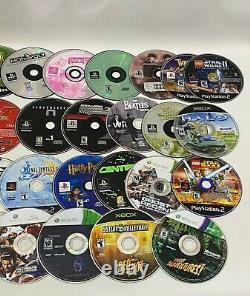 Huge Lot 110 Video Games Playstation 1 2 3 4 XBOX 360 Wii U GameCube Nintendo +