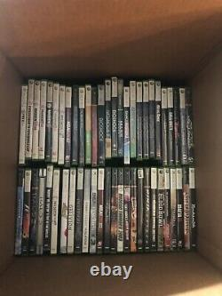 Huge Lot of 100 Microsoft Xbox 360 Playstation Nintendo Wii Video Games Untested