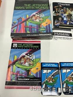 Intellivision Jetsons' Jetsons Way With Words INTV Video Game System Complete