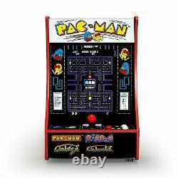 Kids children video Arcade 1 Up Partycade 16.7 LCD Game Machine, 4 Games Pacman