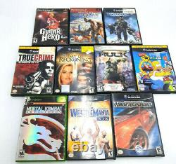 Large Lot of Video Games for Resurfacing. Xbox Gamecube PS2 PS3 360 Fun Titles