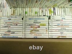 Lot of 100 Nintendo Wii Games Bulk Wholesale Video Games Reseller
