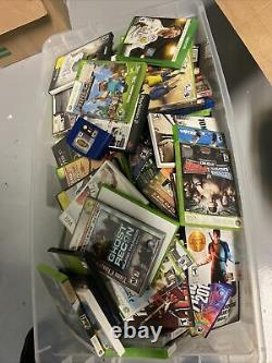 Lot of 308 Bulk Wholesale Video Games Ps4, Ps3, Xbox One, Psp, Ps2, Wii, DS