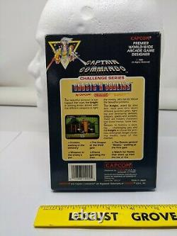 MINT Ghosts'n Goblins 3 Screw Nintendo NES Video Game GRADE WORTHY complete cib