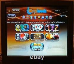 Merit Megatouch 2014 Lite PC ION Custom Touchscreen Bar Video Game Arcade Force