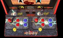 Mortal Kombat 2 Arcade 1Up Machine Arcade1UP, 4ft Tall Video Game Cabinet Riser