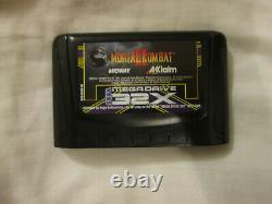 Mortal Kombat II NO MANUAL Sega Mega Drive 32X Video Game (PAL) Boxed 2 32 X