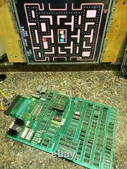 Ms. Pacman Video Arcade Game PCB, Atlanta, #262