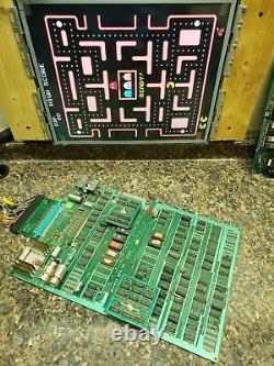 Ms. Pacman Video Arcade Game PCB, Atlanta, #263