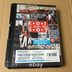 NEO GEO video game AES THE KING OF FIGHTERS 97 from Japan F/S Used