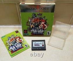 NEOGEO POCKET Color Video Game Metal Slug 2 2nd Mission Complete with Box