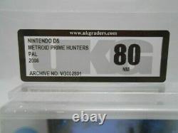 NEW SEALED Metroid Prime Hunters Nintendo DS 2DS Video Game UKG not VGA Graded80