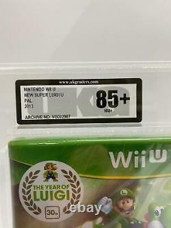 NEW SEALED Super Luigi U Video Game Nintendo Wii U PAL 2013 UKG GRADED 85+NM+