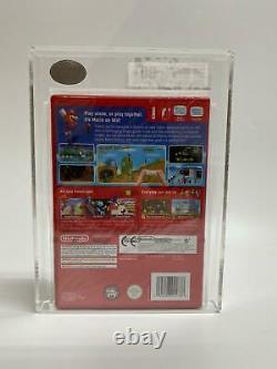 NEW SEALED Super Mario Bros Video Game Nintendo Wii PAL 2009 UKG GRADED 80+NM+