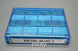 Neo Geo mvs Metal slug 2 arcade cartridge video game original holographic SNK