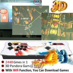 New Pandora Box Arcade Games Machine 2448 Classic Video WIFI 3D Double Stick AU