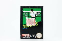 Nintendo Club Nes Tennis Sports Video Game 1985 Vintage Rare European Greek Pal