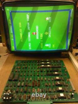 ORIGINAL Scrambled Egg Technos pcb Video Game Board Arcade WORKING aka Eggs DHL