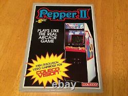 PEPPER II COLECOVISION Video Game System NEW & SEALED
