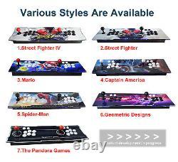 Pandora Box 3D 8000 Games Retro Video Game Arcade Console HDMI Double Stick