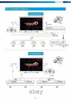 Pandora Box 3D Wifi 8000 in 1 Games for Arcade Video Game Console Jamma Gamepad