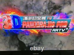 Pandora's Box 3399 Games 11s 3D HD Video Arcade Console Double Joystick Pandoras