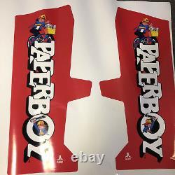Paperboy Custom Side Art Arcade Video Game Atari System 1 Dedicated Cab