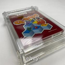 QBert Atari 2600 Red Box 1988 QBert Factory Sealed Video Game NOS WATA 7.5 A+