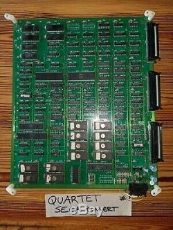 Quartet SEGA PCB Arcade Video Game ORIGINAL conversion 4 Players. Repro
