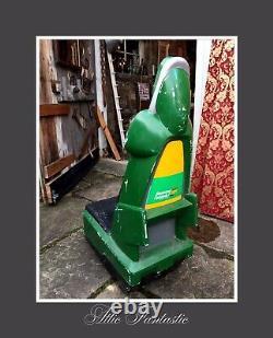 RARE Vintage Amusement Arcade Benetton Formula 1 VIDEO GAME RACING DRIVERS CHAIR