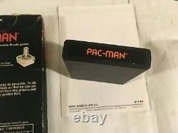 Rare Complete in Box SEARS Tele-games Video Arcade PAC-MAN Not For Resale ATARI