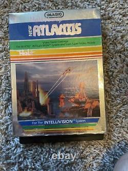 Rare Sears Super video arcade Tele-games with 7 games, intellivoice bundle Retro